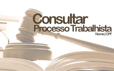 Aprenda a Consultar processo trabalhista pelo CPF