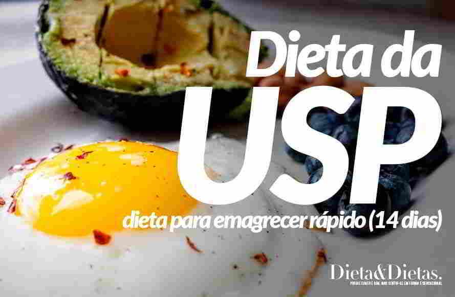 Dieta da USP para emagrecer