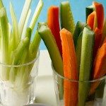 palatinos de legumes sem sal.