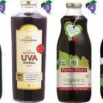 sucos de uva integral