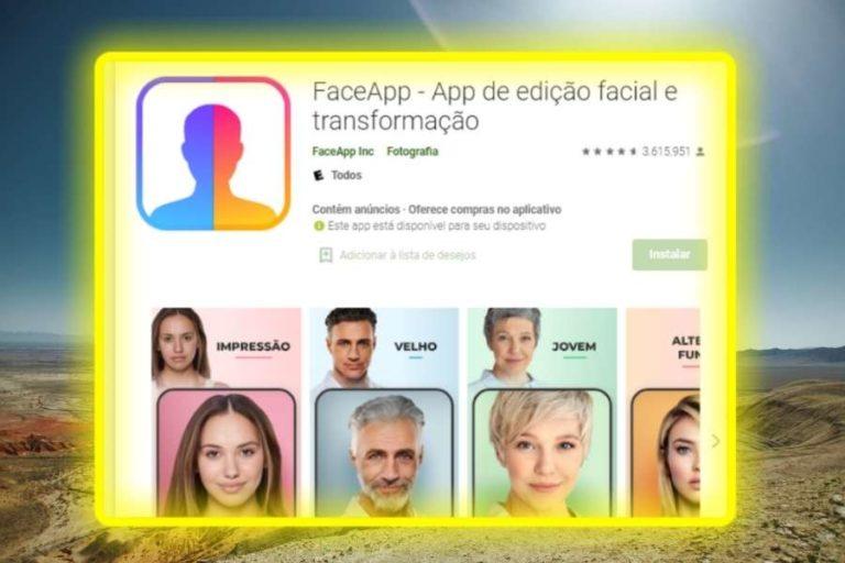 Como os famosos se divertem- Aplicativo que muda seu rosto!