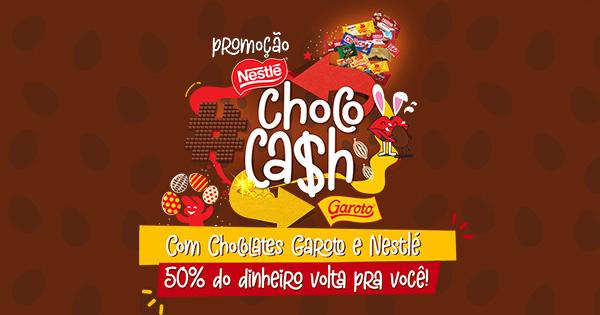 Promoção Nestlé Chococash!