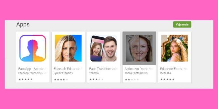 Aplicativo que altera o rosto! O FaceApp continua fazendo sucesso!
